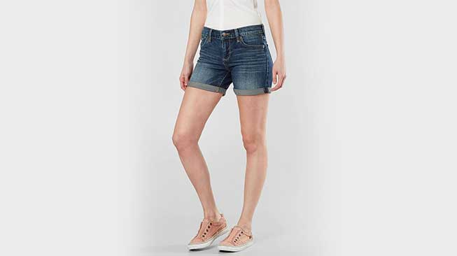 selana pendek-Roll Up Shorts