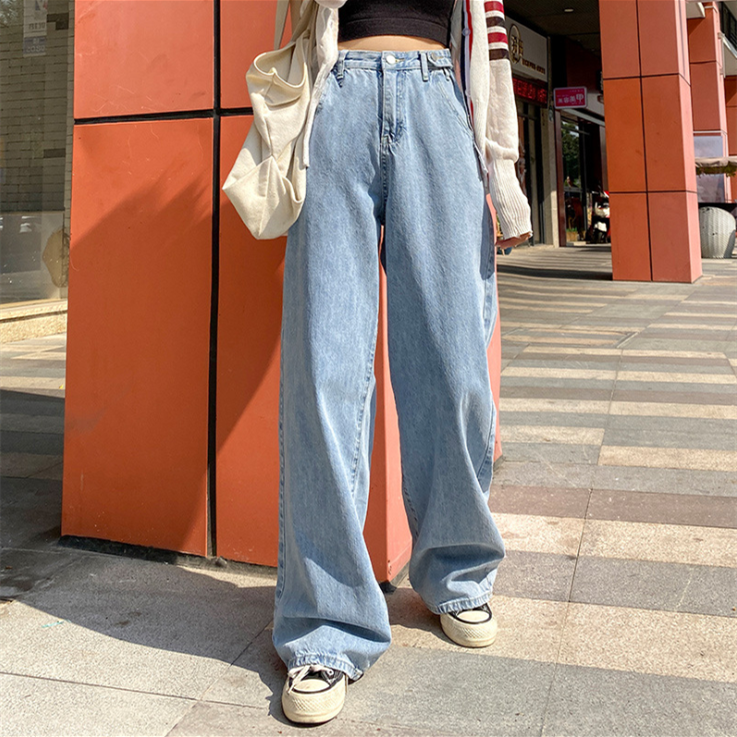 Korean Style Baggy Jeans